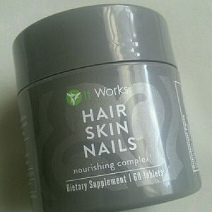 It works  hair,skin, nails